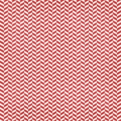 Christmas In July- Chevron Paper- Red