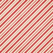 Christmas In July - Paper - Red Stripes