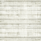 Christmas In July- Wooden Paper- White