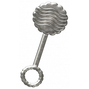 Oh Baby, Baby- Rattle Charm