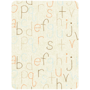 Oh Baby, Baby- ABC Journal Card