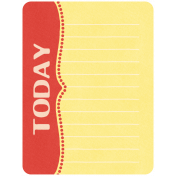 Oh Baby, Baby- Rad & Yellow Today Journal Card