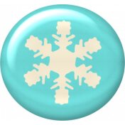 Christmas In July- CB- Snowflake Flair- Blue