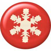 Christmas In July- CB- Snowflake Flair- Red