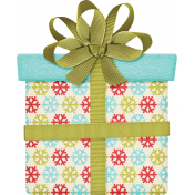 Christmas In July - CB - Green Ribbon Present