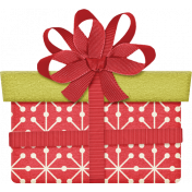 Christmas In July - CB - Red Ribbon Present