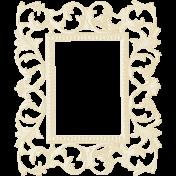 Christmas In July- White Ornate Frame