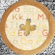 School Fun- Alphabet Button