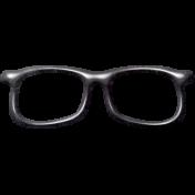 School Fun- Black Glasses