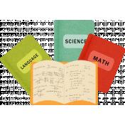 School Fun- Books Sticker