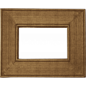 School Fun- Brown Wood Frame