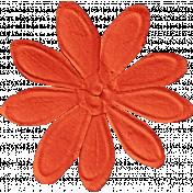 School Fun - Big Red Flower