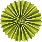 School Fun- Green Accordian Flower
