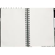 School Fun- Open Notebook