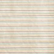 School Fun- Doodled Lines Paper