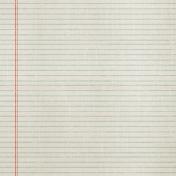 School Fun- Notebook Paper