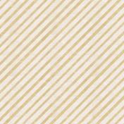 Garden Party- Tan Diagonal Stripe Paper
