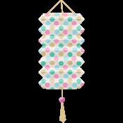 Garden Party- Polka Dot Lantern