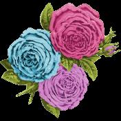 Garden Party- Vintage Flowers
