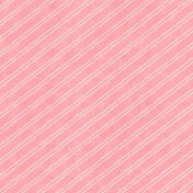 Summer Daydreams- Striped Paper- Pink & White