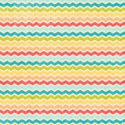 Summer Daydreams- Paper- Colorful Chevrons