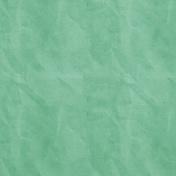 School Fun- Solid Crinkled Paper- Teal