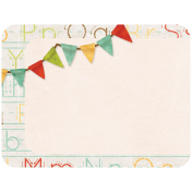 School Fun- Journal Card- Banner