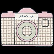 Meet Me In Paris- Camera Sticker