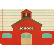 School Fun- Journal Cards- Schoolhouse