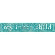 Summer Daydreams- My Inner Child Wordart