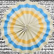 At The Fair- September 2014 Blog Train- Accordian Flower