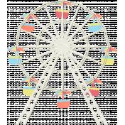 At The Fair- September 2014 Blog Train- Ferris Wheel