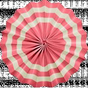 At The Fair- September 2014 Blog Train- Accordian Flower- Pink