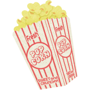 At The Fair- September 2014 Blog Train- Popcorn Sticker