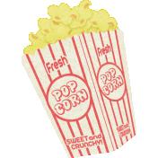 At The Fair- September 2014 Blog Train- Popcorn Sticker