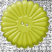 Summer Daydreams- Green Digital Flower Button