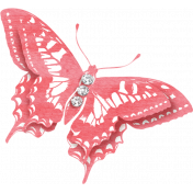 Summer Daydreams- Pink Butterfly