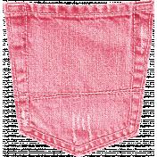 Summer Daydreams- Pink Jean Pocket