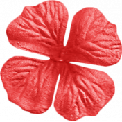 Summer Daydreams- Red Craft Flower