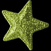 Summer Daydreams- Star- Green