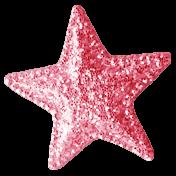 Summer Daydreams- Star- Pink