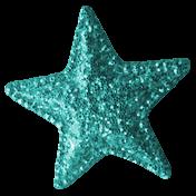 Summer Daydreams- Star- Teal