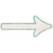 Summer Daydreams- Teal Paper Arrow