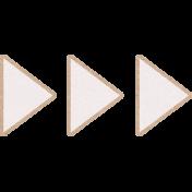 Summer Daydreams- Triangle Paper Arrows