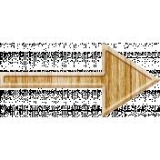 Summer Daydreams- Wood Arrow