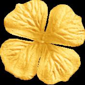 Summer Daydreams- Yellow Craft Flower