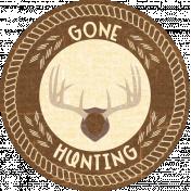 Outdoor Adventures- Word Art- Gone Hunting