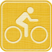 Outdoor Adventures- Recreational Icon Woodchips- Biking