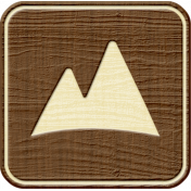 Outdoor Adventures- Recreational Icon Woodchips- Mountains