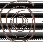 Outdoor Adventures- Stamp- Brown Rope Doodle
